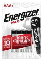 "ENERGIZER Elem, AAA mikro, 4 db, ENERGIZER ""Max"""