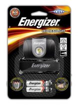 "ENERGIZER Fejlámpa, 1 LED, 2xAAA, ENERGIZER ""Headlight Led"""