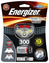"ENERGIZER Fejlámpa, 3 LED, 3xAAA, ENERGIZER ""Headlight Vision HD Focus"""