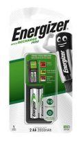 """ENERGIZER Elemtöltő, AA ceruza/AAA mikro, 2x2000mAh, ENERGIZER """"Mini"""""""