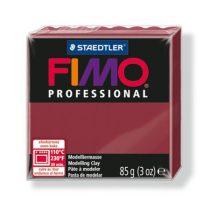"FIMO Gyurma, 85 g, égethető, FIMO ""Professional"", bordó"
