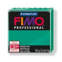 "FIMO Gyurma, 85 g, égethető, FIMO ""Professional"", intenzív zöld"