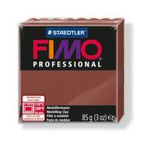 "FIMO Gyurma, 85 g, égethető, FIMO ""Professional"", csokoládé"