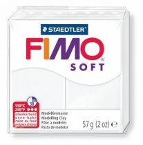 "FIMO Gyurma, 57 g, égethető, FIMO ""Soft"", fehér"