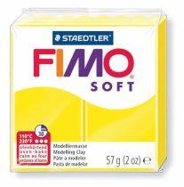 """FIMO Gyurma, 57 g, égethető, FIMO """"Soft"""", citromsárga"""