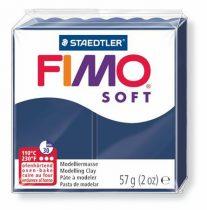 "FIMO Gyurma, 56 g, égethető, FIMO ""Soft"", Windsor kék"
