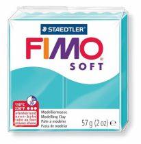 """FIMO Gyurma, 57 g, égethető, FIMO """"Soft"""", borsmenta"""