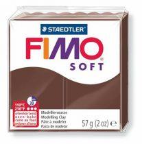 "FIMO Gyurma, 57 g, égethető, FIMO ""Soft"", csokoládé"