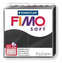 """FIMO Gyurma, 57 g, égethető, FIMO """"Soft"""", fekete"""