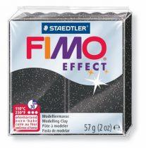 "FIMO Gyurma, 56 g, égethető, FIMO ""Effect"", csillagpor"