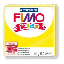 "FIMO Gyurma, 42 g, égethető, FIMO ""Kids"", sárga"