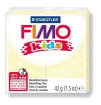 """FIMO Gyurma, 42 g, égethető, FIMO """"Kids"""", gyöngyház sárga"""