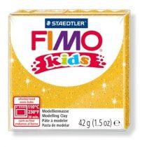 """FIMO Gyurma, 42 g, égethető, FIMO """"Kids"""", glitteres arany"""