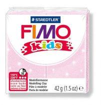 """FIMO Gyurma, 42 g, égethető, FIMO """"Kids"""", gyöngyház világos rózsaszín"""