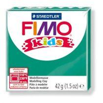 "FIMO Gyurma, 42 g, égethető, FIMO ""Kids"", zöld"