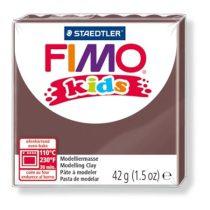 """FIMO Gyurma, 42 g, égethető, FIMO """"Kids"""", barna"""