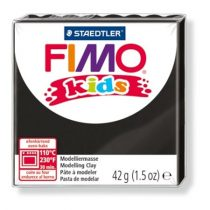 """FIMO Gyurma, 42 g, égethető, FIMO """"Kids"""", fekete"""