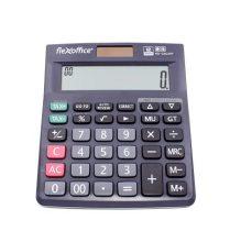 """FLEXOFFICE Számológép, asztali, 12 számjegy, FLEXOFFICE """"FO-CAL05P"""", szürke"""