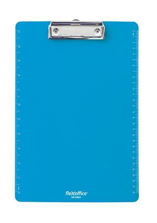 """FLEXOFFICE Felírótábla, A4, műanyag, FLEXOFFICE """"FO-CB011"""", kék"""