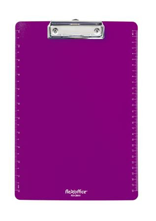 """FLEXOFFICE Felírótábla, A4, műanyag, FLEXOFFICE """"FO-CB011"""", lila"""