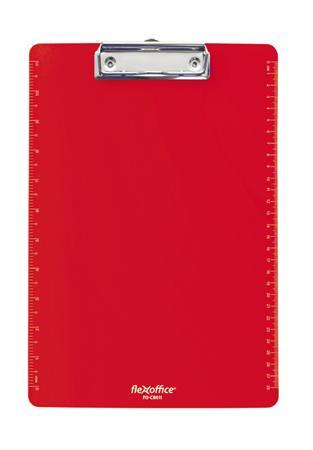 """FLEXOFFICE Felírótábla, A4, műanyag, FLEXOFFICE """"FO-CB011"""", piros"""