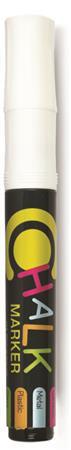 "FLEXOFFICE Krétamarker, 2,5 mm, 1 db/bliszter, FLEXOFFICE ""Chalkmarker"", fehér"