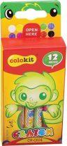 """COLOKIT Zsírkréta, COLOKIT """"Crayon"""", 12 különböző szín"""