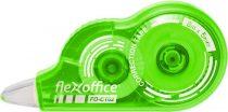 """FLEXOFFICE Hibajavító roller, 5 mm x 8 m, FLEXOFFICE """"FO-CT02"""", vegyes színek"""