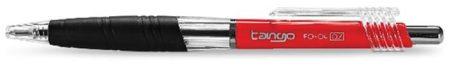 """FLEXOFFICE Golyóstoll, 0,35 mm, nyomógombos, FLEXOFFICE """"Tango"""", piros"""