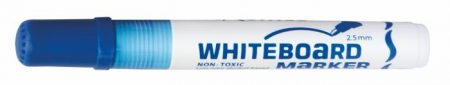 """FLEXOFFICE Táblamarker, 2,5 mm, kúpos, FLEXOFFICE """"WB02"""", kék"""