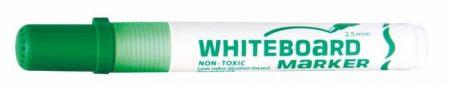 "FLEXOFFICE Táblamarker, 2,5 mm, kúpos, FLEXOFFICE ""WB02"", zöld"