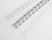 "GBC Spirál, fém, 2:1, 14 mm, 130 lap, GBC ""MultiBind 21"",  ezüst"