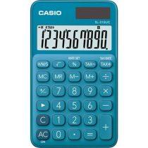 """CASIO Számológép, asztali, 10 számjegy, CASIO """"SL 310"""" kék"""