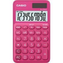 """CASIO Számológép, asztali, 10 számjegy, CASIO """"SL 310"""", rózsaszín"""