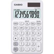 """CASIO Számológép, asztali, 10 számjegy, CASIO """"SL 310"""" fehér"""