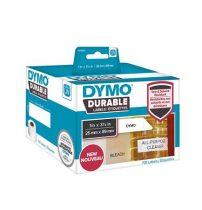DYMO Etikett, tartós, LW nyomtatóhoz, 25x89 mm, 700 db etikett, DYMO