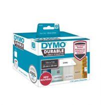 DYMO Etikett, tartós, LW nyomtatóhoz, 25x25 mm, 1700 db etikett, DYMO