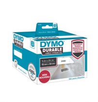 DYMO Etikett, tartós, LW nyomtatóhoz, 19x64 mm, 900 db etikett, DYMO