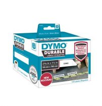 DYMO Etikett, tartós, LW nyomtatóhoz, 59x190 mm, 170 db etikett, DYMO