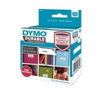 DYMO Etikett, tartós, LW nyomtatóhoz, 25x54 mm, 160 db etikett, DYMO