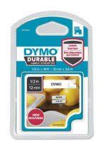 """DYMO Feliratozógép szalag, 12 mm x 5,5 m, tartós, DYMO """"D1"""", fehér-fekete"""