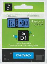 """DYMO Feliratozógép szalag, 19 mm x 7 m, DYMO """"D1"""", kék-fekete"""