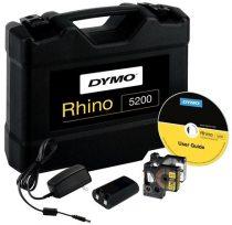 """DYMO Elektromos feliratozógép, DYMO """"Rhino 5200"""" készlet táskában"""