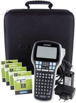 """DYMO Elektromos feliratozógép, DYMO """"LM 420P"""" készlet táskában"""