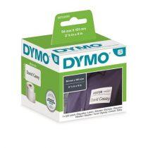 DYMO Etikett, LW nyomtatóhoz, tartós, 54x101 mm, 220 db etikett, DYMO