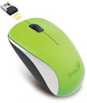 """GENIUS Egér, vezeték nélküli, optikai, normál méret, GENIUS """"NX-7000"""" zöld"""