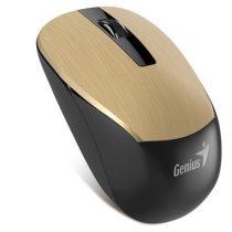 """GENIUS Egér, vezeték nélküli, optikai, normál méret, GENIUS """"NX-7015"""" arany"""