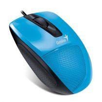 """GENIUS Egér, vezetékes, optikai, normál méret, USB, GENIUS """"DX-150X"""", kék"""