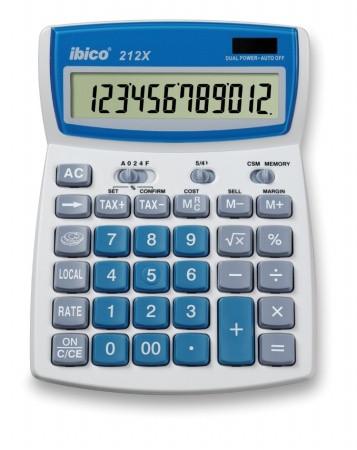 """IBICO Számológép, asztali, 12 számjegy, IBICO """"212X"""""""