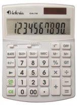 """VICTORIA Számológép, asztali, 10 számjegy, környezetbarát, VICTORIA """"GVA-740"""", fehér"""